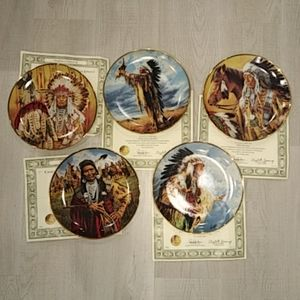 The Franklin Mint plate collection